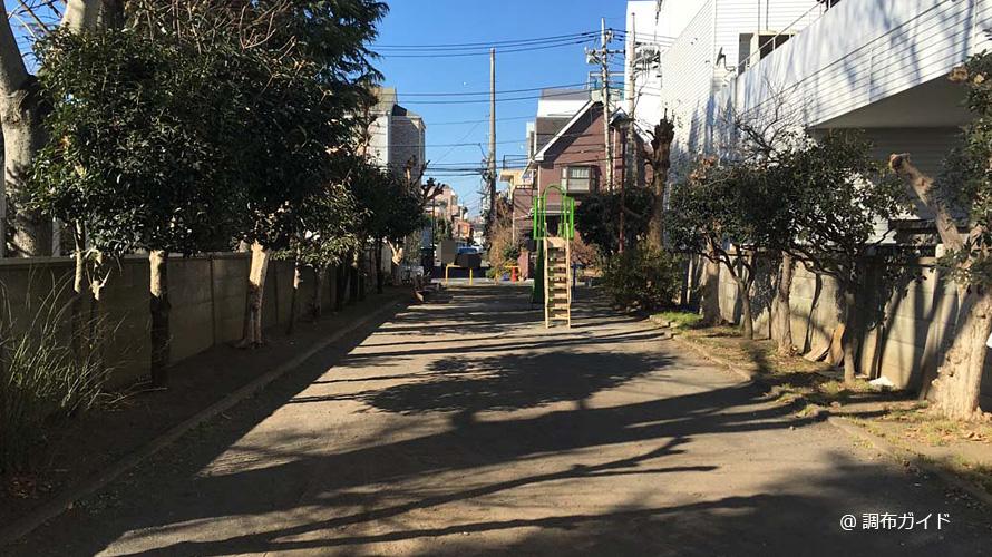 萩原児童遊園の全景